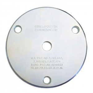 Gorilla Post Mounting Plate